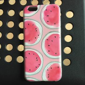 Lyserød vandmelon cover til iPhone 6 :)