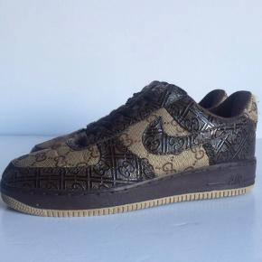 COSTUMIZED sneakersGucci fabric / Nike airforce 1 Byd 40-41 Slidte