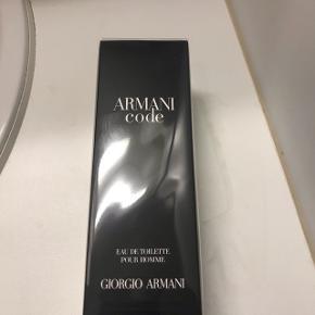 Armani Code, 75ml. Helt ny. Kan selvfølgelig sendes. :-)