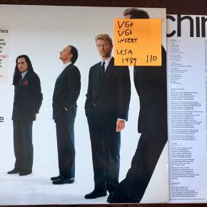 David Bowie tin machine vinyl lp plade til grammofon. Super stand. Tin machine på vinyl