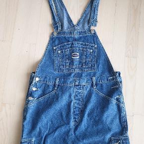 Vintage overall nederdel. Str large.  150