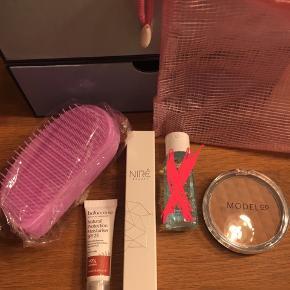 Lækre produkter fra Goodiebox fra 10,- pr. stk.