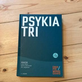 Psykiatri, 2. Udgave. Af Lene Nyboe, Sylvia Johannsen, Per Jørgensen.  Fin stand, ingen overstregninger.  Brugt på fysioterapeut uddannelsen
