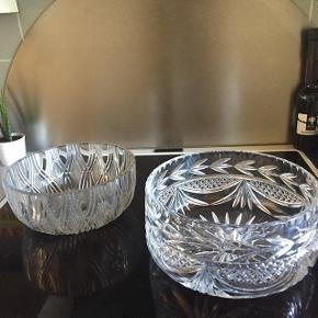 Krystal skåle, virkelig flotte