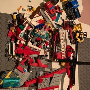 Diverse LEGO, kan ikke garantere alt er der