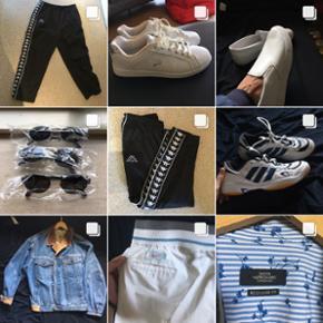 Følg min Instagram side hvor jeg sælger alt muligt Retro/vintage tøj. Streetwear som Kappa, Nike, denim jakker, Adidas, Sneakers, jakker, ringe, covers, track suits, tasker, skjorter, solbriller, jeans og meget mere  Secondhand_sorgenfri