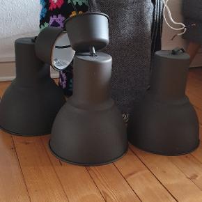 3 stk lamper fra IKEA. Fejler ikke noget, pære til alle medfølger.   Prisen er for alle 3 :-)   Sælges samlet og sendes ikke. Skal afhentes i Nørresundby.
