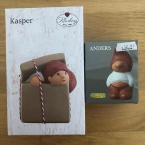 Klarborg nisser, Kasper og Anders. Sælges samlet for 150 kr. 🎅🏻