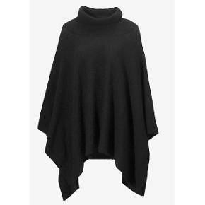 74287567448 Poncho Laurel fra InWear er skønt strikket med mohair og uld som gør den  varm og