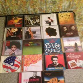38 stk cd'er
