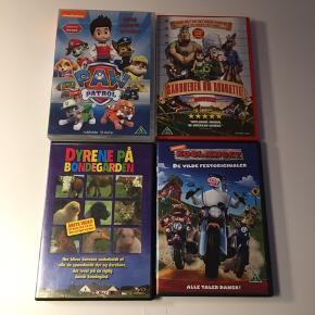Dvd film sælges samlet 40.-