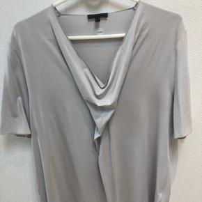 Blød lækker t-shirt, lys grå.