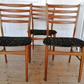 3 Super fede retro spisestole fra Sibast Furniture.   Prisen er pr stk.  Sælges samlet for 750 kr.