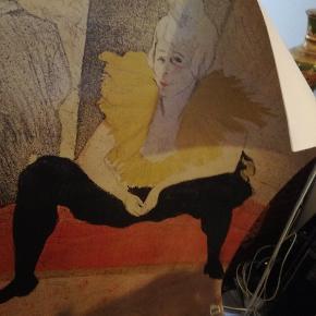 Plakat La Clownesse seated, 1896. Af Henri de Toulouse-Lautrec. Måler 71 x 101 cm. Har lidt brugsskrammer, men i god stand.