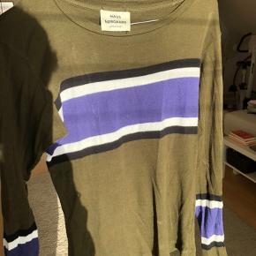 Fed langærmet t-shirt med stretch