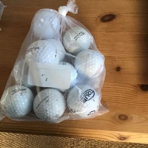 Golfbolde  3kr pr stk 20kr for 10 stk Der er mange