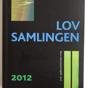 Lovsamlingen 2012, Jens Møller.   Der er hverken lavet overstregninger eller noter.   Kan hentes i København eller Roskilde.