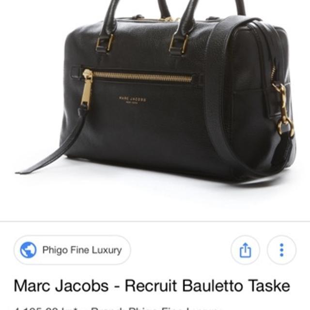 Marc Jacobs – Recruit Small Bauletto Taske