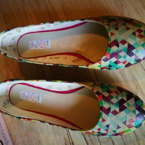 Ballarina sko fra Goby. Jeg sælger dem fordi jeg aldrig bruger dem.