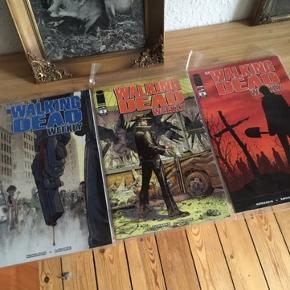 Walking dead Weekly 1-6 Tegneserier  - fast pris -køb 4 annoncer og den billigste er gratis - kan afhentes på Mimersgade 111 - sender gerne hvis du betaler Porto - mødes ikke andre steder - bytter ikke