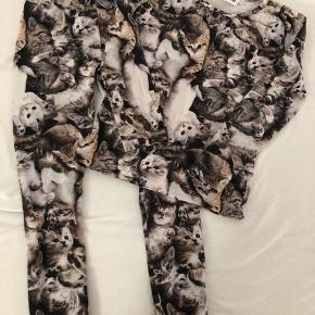 Leggings og bluse