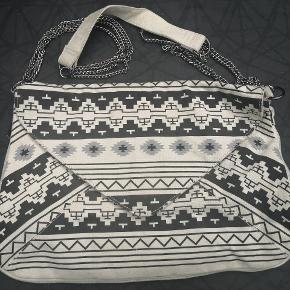Tasken er ny men har fået støv på skulder stroppen som bør kunne vaskes af derfor prisen