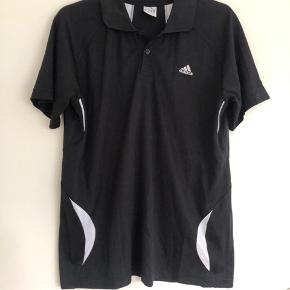 Adidas sort sportsbluse str XL