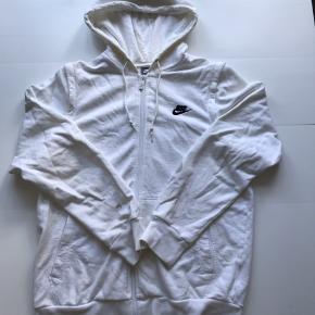 Vintage Nike hoodie  Hvid Str L, men fitter M (Pletter på ene ærme)