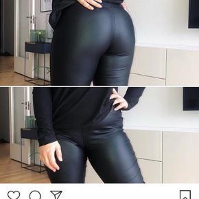 De populære læder look leggings fra Blog and Shop fashion. Fejler intet! Har bare glemt at sende retur rettidigt 🙈