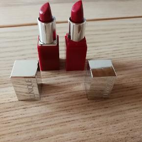 2 læbestifter fra clinique passion pop og cherry pop kun prøvet sælges samlet for 100 kr