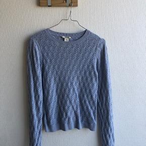 Blå monki bluse sælges💚