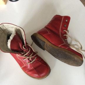 Røde ANGULUS støvler, str 38,5 Velholdte