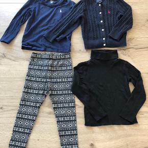 Ralph Lauren tøjpakke til piger.  Str. 98/104. Småt i størrelsen.