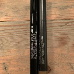 Mascara er solgt. Der er gelé liner og Brown pencil tilbage.