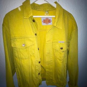 Vintage yellow denim jacket