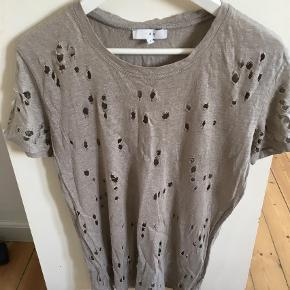 Varetype: T-shirt Farve: Beige Oprindelig købspris: 800 kr.  Inden meget gode ende af god men brugt :-)   Så fin beige Iro t-shirt :-)   Bytter ikke - kan afhentes i indre by :-)   Handler helst mobilepay eller bank :-)   Kh Fie