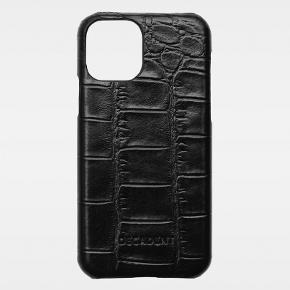 iPhonecover til iPhone 11 pro fra DECADENT i sort croco. Modellen hedder Amelia.  Det er kun brugt i nogle måneder og fremstår fint.  Nypris 430,-