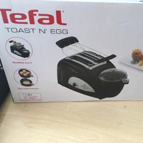 Lækker Tefal toast'n egg maske er ikke brugt og stadig i kassen ☺️