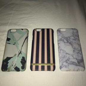 Malene Birger cover  Richmond and finch cover Hvid sten cover  Cover til iPhone 6/6s   SAMLET 80kr. For ALLE BYD. Sælger helst samlet