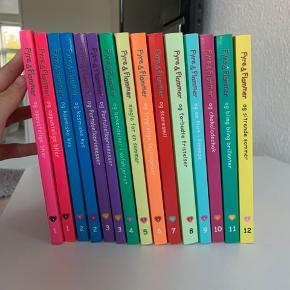 Fyre og flammer af Cathy Hopkins. Bog 1-12 (ekstra 1,2 og 3) Kom med bud!☺️👏🏻