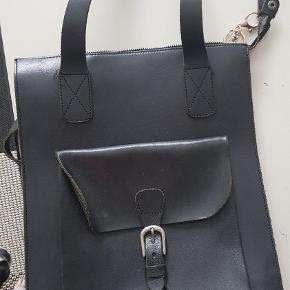 Vintage lædertaske. I super flot stand