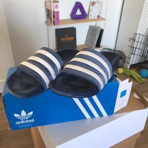 Adidas Adilette velour Aldrig brugt udendørs