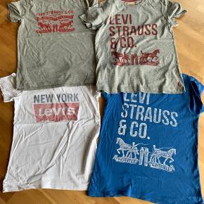Rigtig fine t-shirts i str 16 år som absolut intet fejler, er brugt 2 mdr sidste sommer. Nyprisen er 249 kr pr stk og de sælges for 50 kr stk pp. Den hvide ER solgt 😊