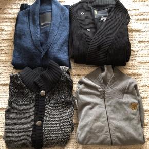 4 cardigans for 400!  All in very good condition. Check out my other listings with clothes for men in size XXL