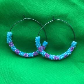 Fine perle hoops i pasteller