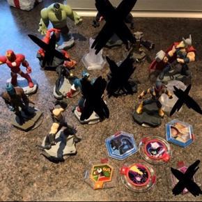 Blandede figurer til Disney Infinity 2.0 6700/Rørkjær
