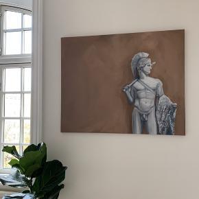 Orginalkunst Akrylmaling på lærred 70x100cm