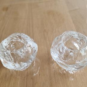 Flotte snebold lysestager fra Kosta Boda sælges . Ses og købes I Kolding! :)