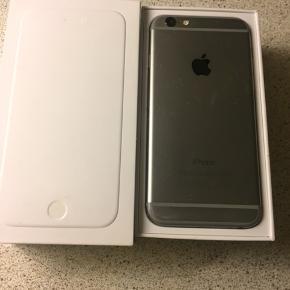 Jeg sælger min iPhone 6 med 16 GB. Med næsten ny skærm og helt nyt batteri. Har nogle små brugsriser med virker som den skal og har været rigtig glad for den BYD