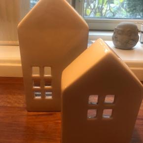 Søde huse til fyrfadslys